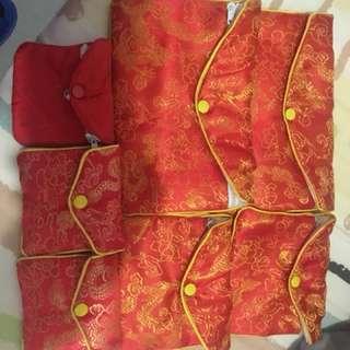 Chinese gold jewellery purses