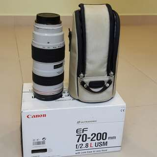 Canon ef 70 -200 f2.8L