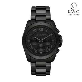 Michael Kors Men's Brecken Black Watch