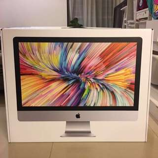iMac 27 Inch Box (2017 Model) - with styrofoam protection intact etc