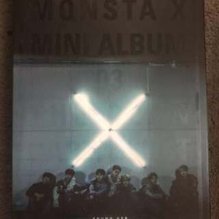 Monsta x the clan part 1 (found ver.) all member signed.