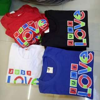 Just love shirt for kids