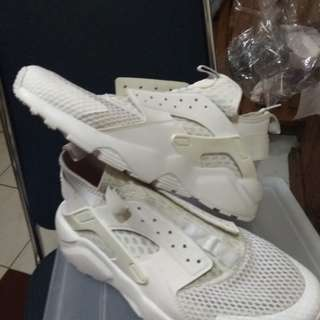 Nike Huarache Run Ultra Br Triple White