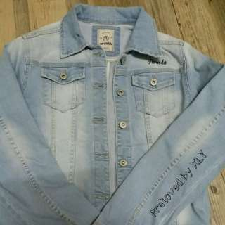 PBXLY 003 - Denim NEVADA Jacket PRELOVED BAJU SECOND