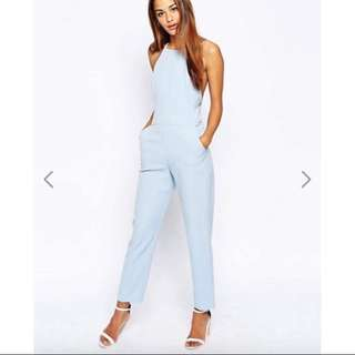 ASOS Halter Neck Jumpsuit