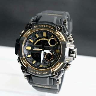 G-shock 1298 rubber dual time D5,0