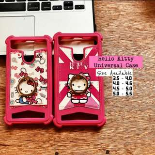 Hello Kitty Universal Shockproof Case with Ring