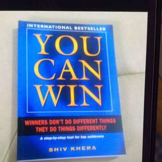 You Can Win- Winners Don't Do Different Things They Do Things Differently