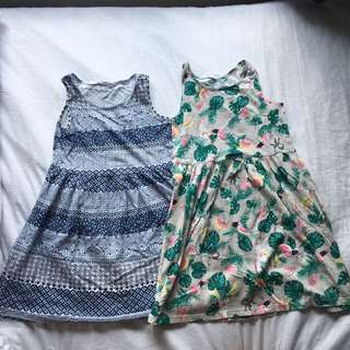 take 2 for 180 H&M Dress 6-8 y/o