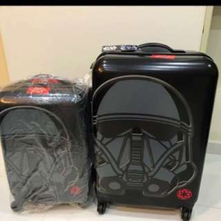 STAR WARS Rogue Death Trooper Black Travel Luggage