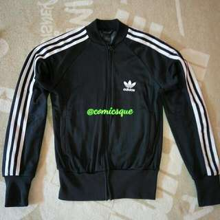 Jacket Jaket Adidas Supergirl Original Black