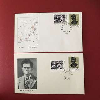 China stamp 1982 J83 2 FDC
