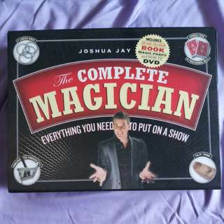 Joshua Jay's The Complete Magician