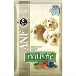 ANF Holistic Lamb 15kg - $110.00 with repack & free delivery