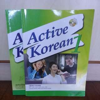 Active Korean 1 (Textbook + Workbook)