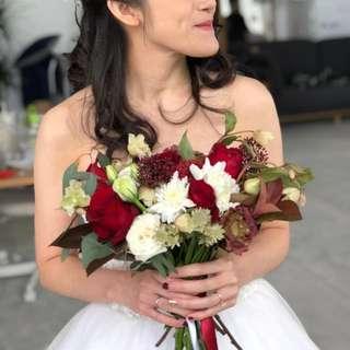 Bridal bouquet customisation