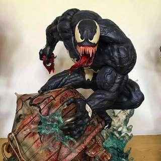 Custom 1:4 Scale Venom Statue