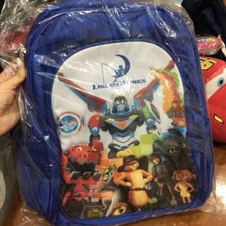 Dreamworks School Back Pack Sealed BN