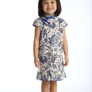 Little Blue Cheongsam