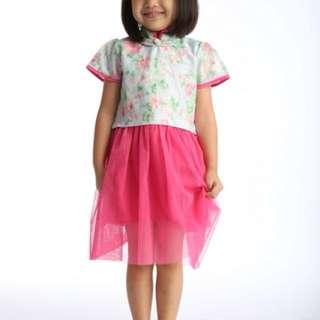 Tulle Cheongsam Pink