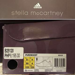 Adidas x Stella McCartney Pureboost