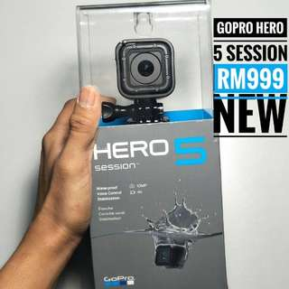 GoPro Hero 5 Session NEW