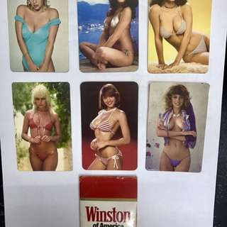Vintage Winston Calendar Cards