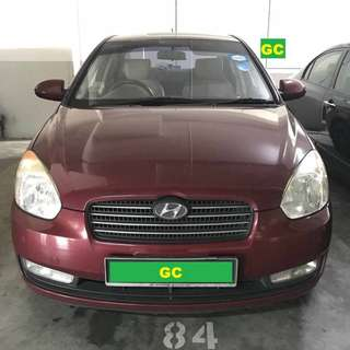Hyundai Getz Manual RENTAL SUPER CHEAP RENT FOR Grab/Uber USE