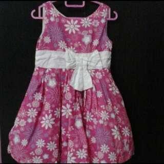 Pumpkin Patch Flower Dress