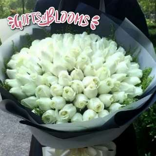 Valentine Anniversary Birthday Flower Gift Bouquet V5 - CECFC