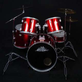 Dr. Drum Drum Set (red head)
