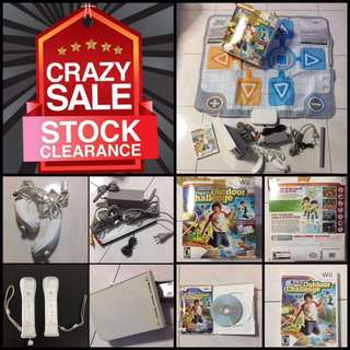 Wii 🚨Moving Out Sale🚨Game plus Active Life Outdoor Challenge Game & Mat
