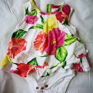 BN Ted Baker cut label baby dress