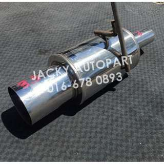 "Muffler Exhaust Performance Cannonball Kcar 2"" Jpn"