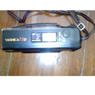 Yashica T3D Compact PnS 35mm Camera