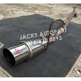 "Muffler Exhaust Performance Style Bay 2"" Kcar Jpn"