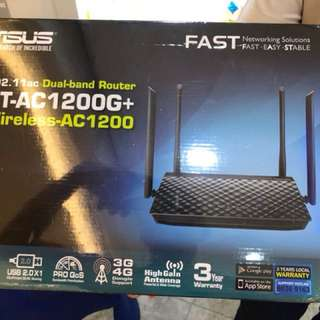 $68 only ASUS RT-AC1200G+ brand new unopened
