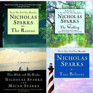 Nicholas Sparks E-Books (pdf)