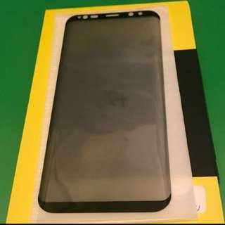 Samsung S8+ 弧邊防窺 鋼化玻璃保護貼