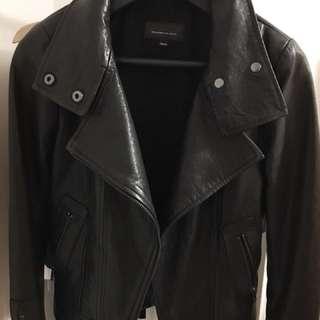 Mackage Kenya leather jacket - xxs