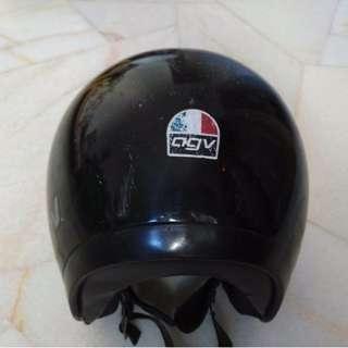 Vintage Agv Visorex Helmet