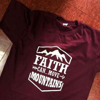 GOSPEL, CHRISTIAN, INSPIRATIONAL TSHIRTS (FAITH)
