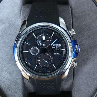 Citizen Eco-Drive Mens watch - chrono, 100m