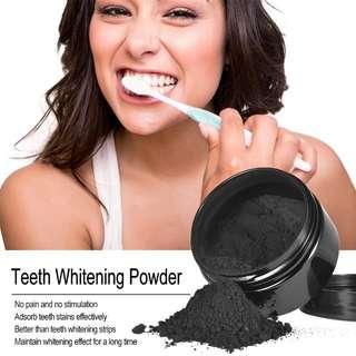 Preorder Teeth Whitening Charcoal Powder