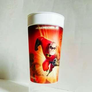 珍藏版美國製造,超人特工隊立體畫杯(高:17cm) : 罕有收藏品