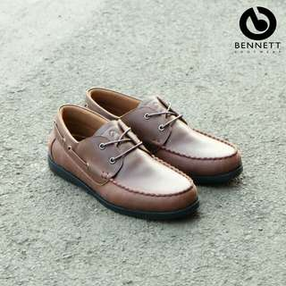size 39-43 Bennett Bruno material Pull Up Leather
