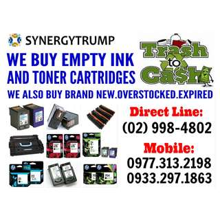 HIGHEST PRICE BUYER OF EMPTY INK CARTRIDGES