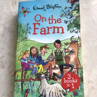 On The Farm by Enid Blyton (3 books In 1)