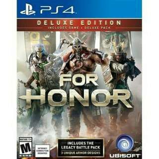 For Honor Deluxe Edition (R-3)