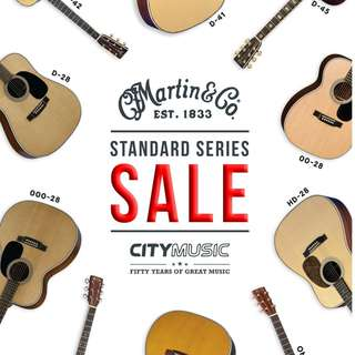 Martin Standard Series Guitars On Sale